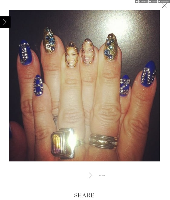 Suggestions Online | Images of Ivy Queen Nails
