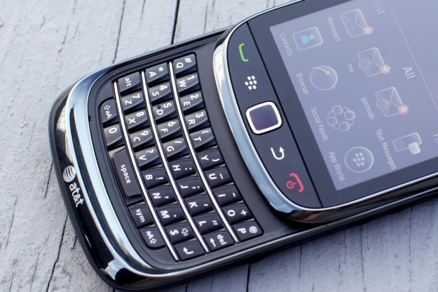 Image: BlackBerry Torch slider phone
