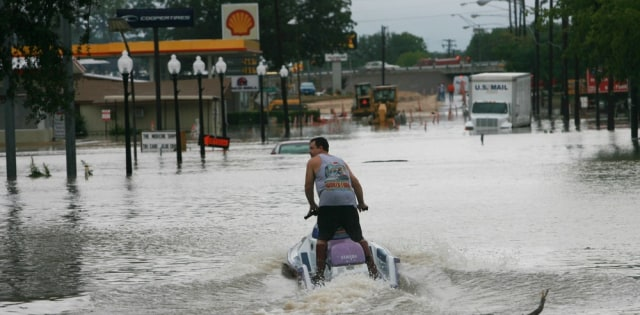 Image: Flooded street