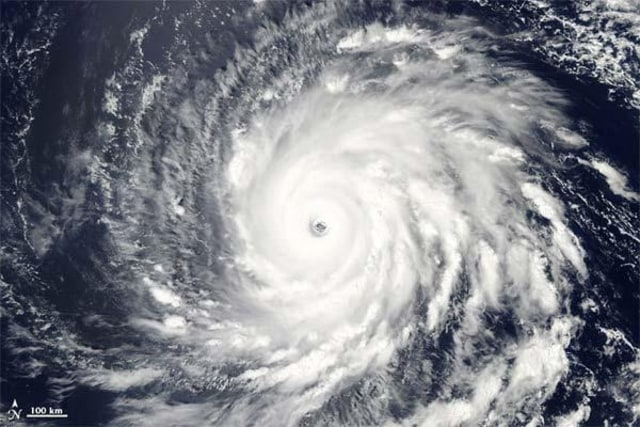 Image: Hurricane Igor from NASA's Aqua satellite