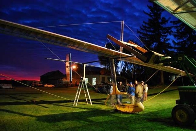 Image: Human powered ornithopter