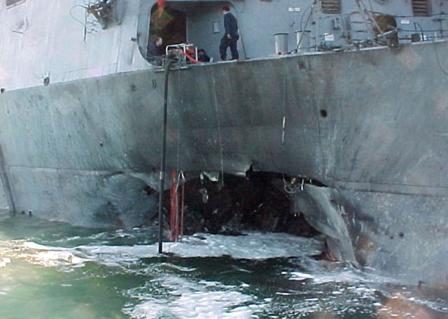 Image: Bombing of the USS Cole