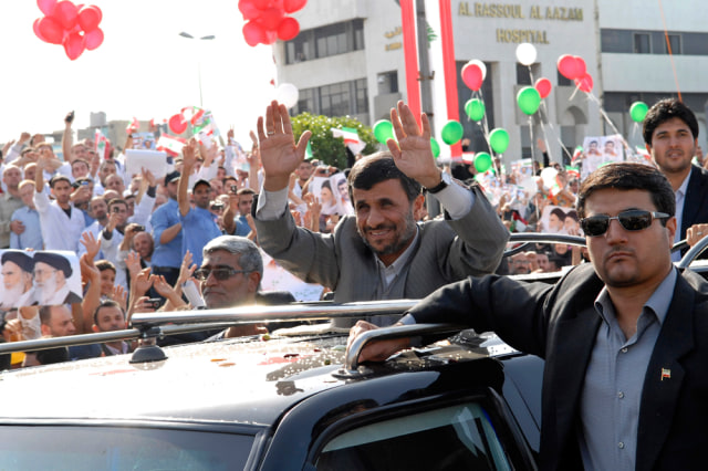 Image: Mahmoud Ahmadinejad in Beirut
