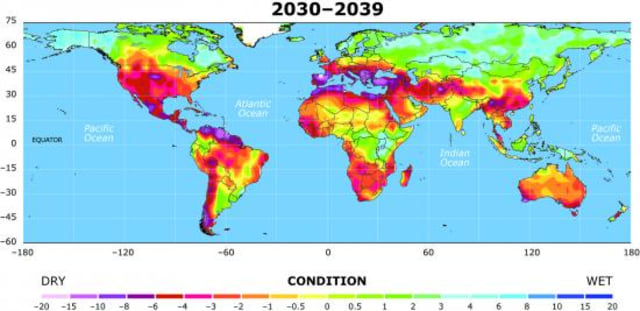 Image: Map of drought potential