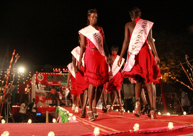 Image: Miss Malaika 2010 beauty pageant