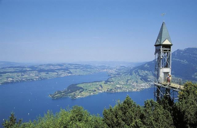 Image: Hammetschwand Lift, Bürgenstock, Switzerland