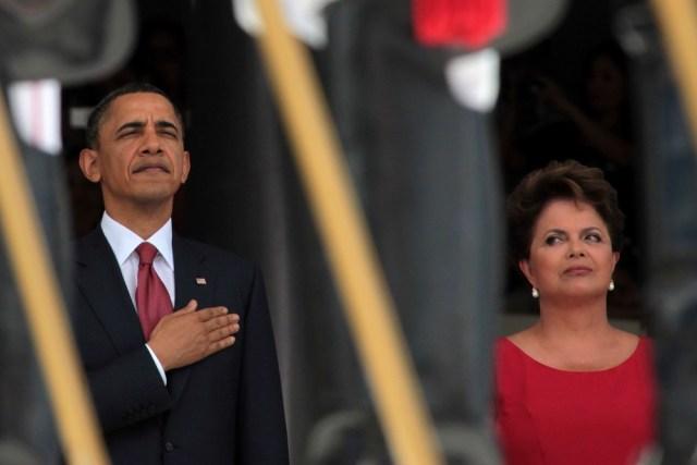 Image: Barack Obama, Dilma Rousseff