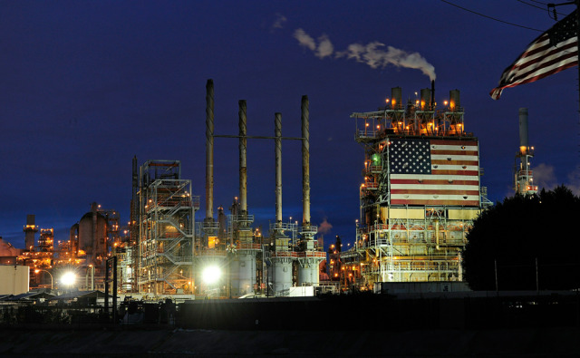 Image: BP refinery