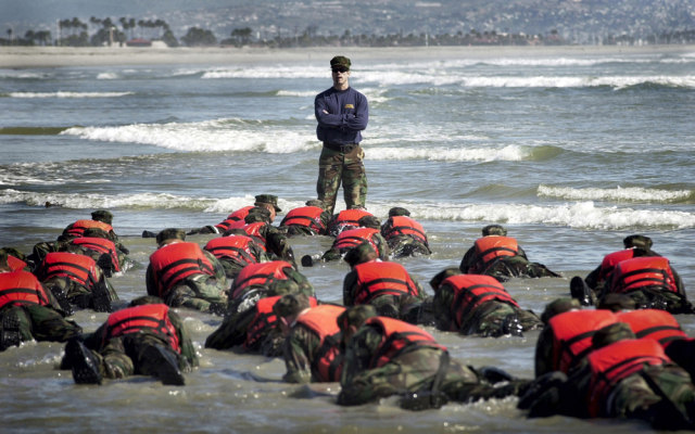 Image: Navy SEALs training