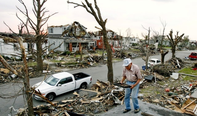 Image: Damage from Joplin tornado