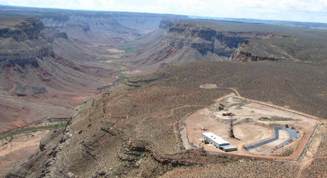 Image: Uranium mine near Grand Canyon