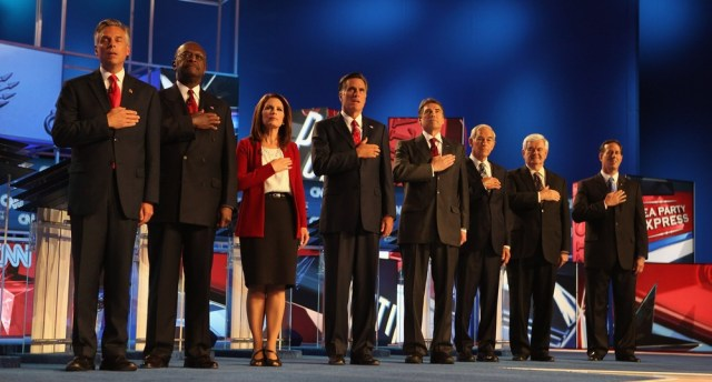 Image: GOP presidential candidates