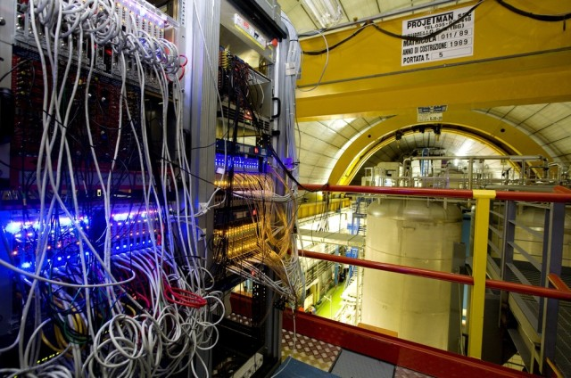 Image: Neutrino experiment