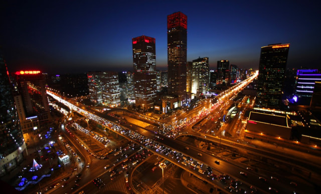 Image: Beijing traffic