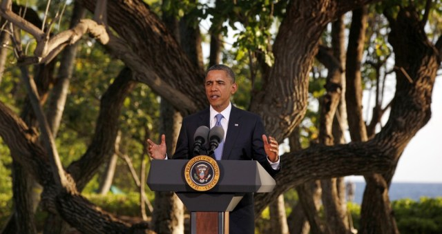 Image: President Obama in Hawaii