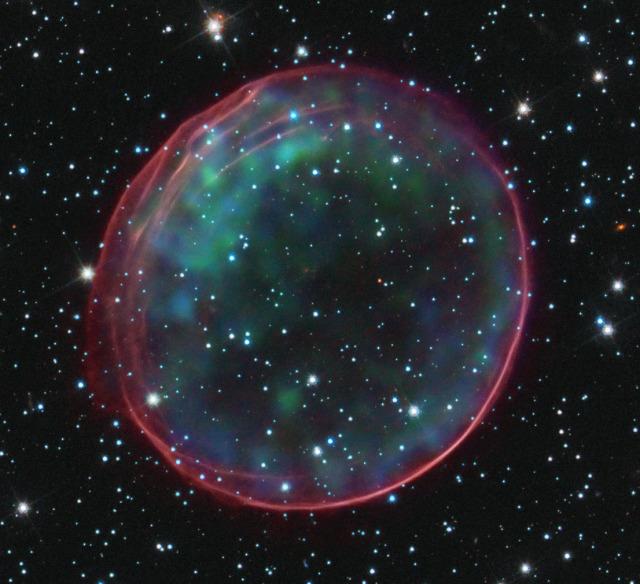 Image: Supernova remnant