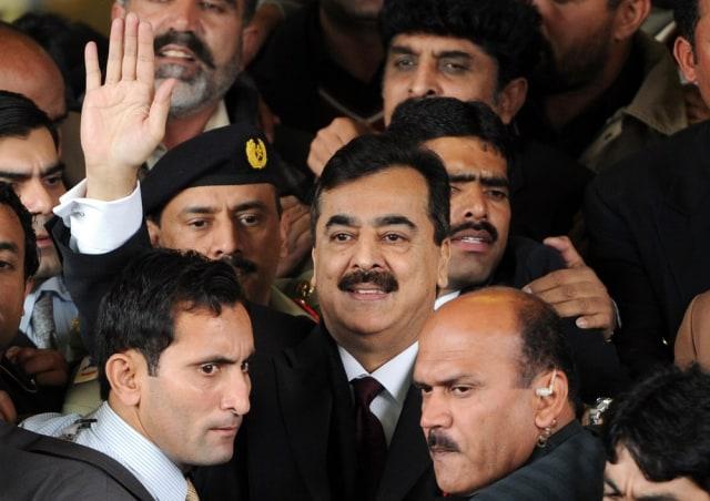 Image: Pakistani Prime Minister Yousuf Raza Gilani