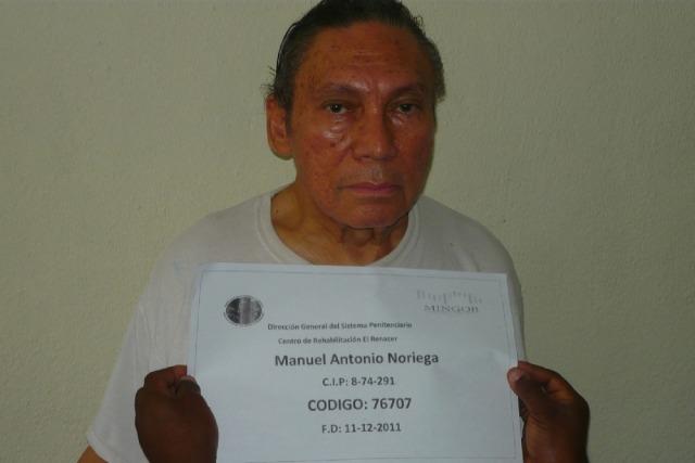 Image: Manuel Noriega in December 2011