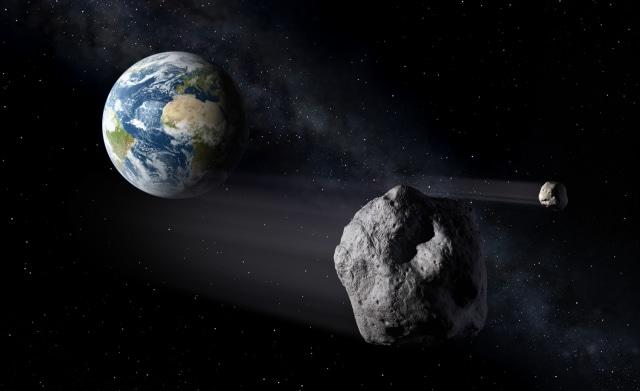 Image: Asteroid encounter