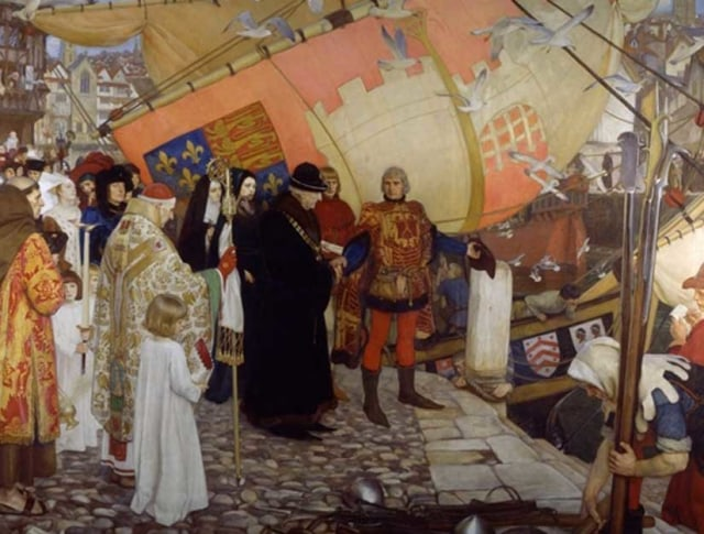 Image: Painting of John and Sebastian Cabot