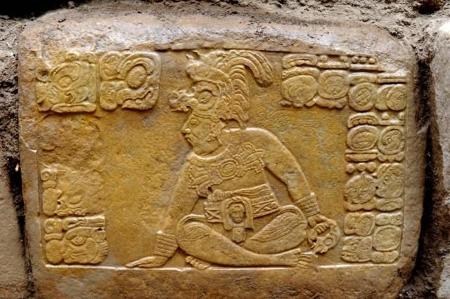 Image: Maya king