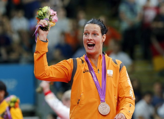 Image: Olympic bronze medalist Edith Bosch