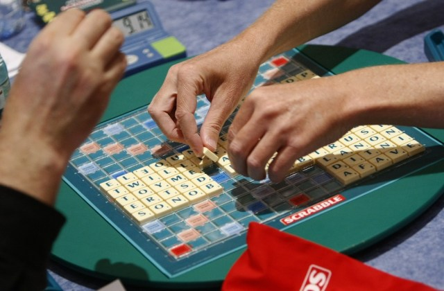 Image: Competitors at the 2011 World Scrabble Championship in Warsaw, Poland