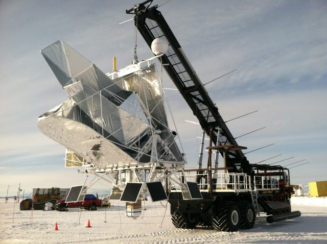 Image: BLAST telescope