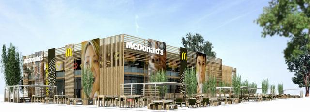 Image: McDonald's restaurant