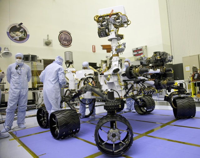 Mars rover working on methane mystery - Technology ...