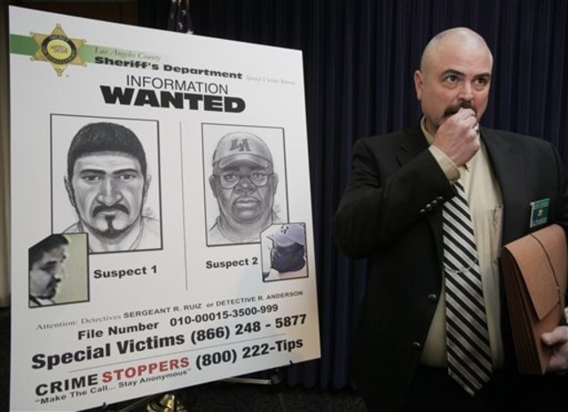 Image: Sketches of suspects