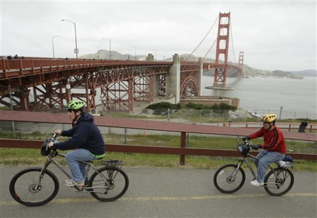 Image: Bicyclists
