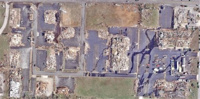 Image: Aerial view of Joplin destruction
