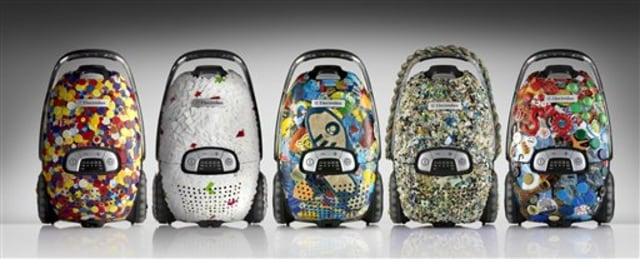 Image: Vacuums made with plastic trash