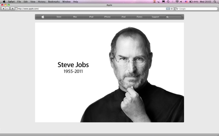 What Steve Jobs Taught Us About Failure  Business  Us Business  Related Video A Look Back At The Life Of Steve Jobs