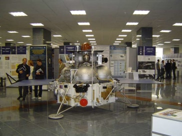 Image: Full-scale mockup of Russia's Phobos-Grunt.