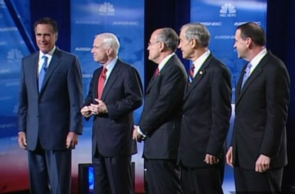 Image: GOP debate in Boca Raton, Florida