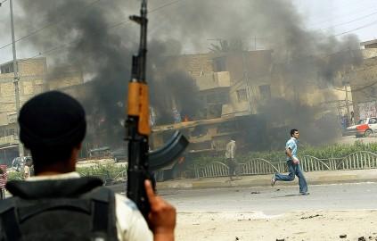 Image: Sadr City clashes
