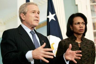 George W. Bush, Condoleezza Rice