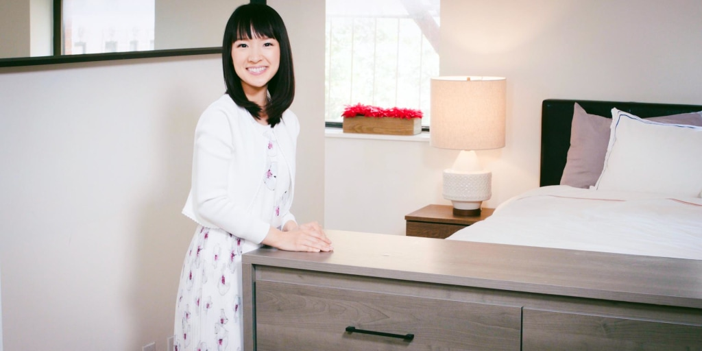 Drawers And Closet With Marie Kondo