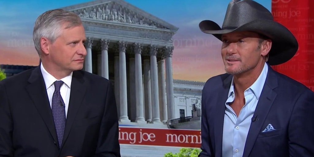 Jon Meacham, Tim McGraw look for America's soul in song