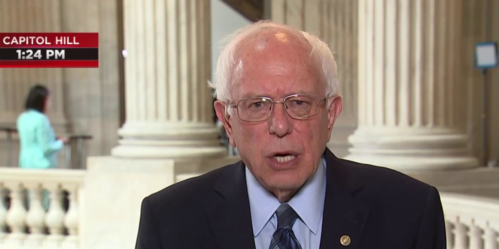 Sen. Bernie Sanders: A war with Iran would be an absolute disaster
