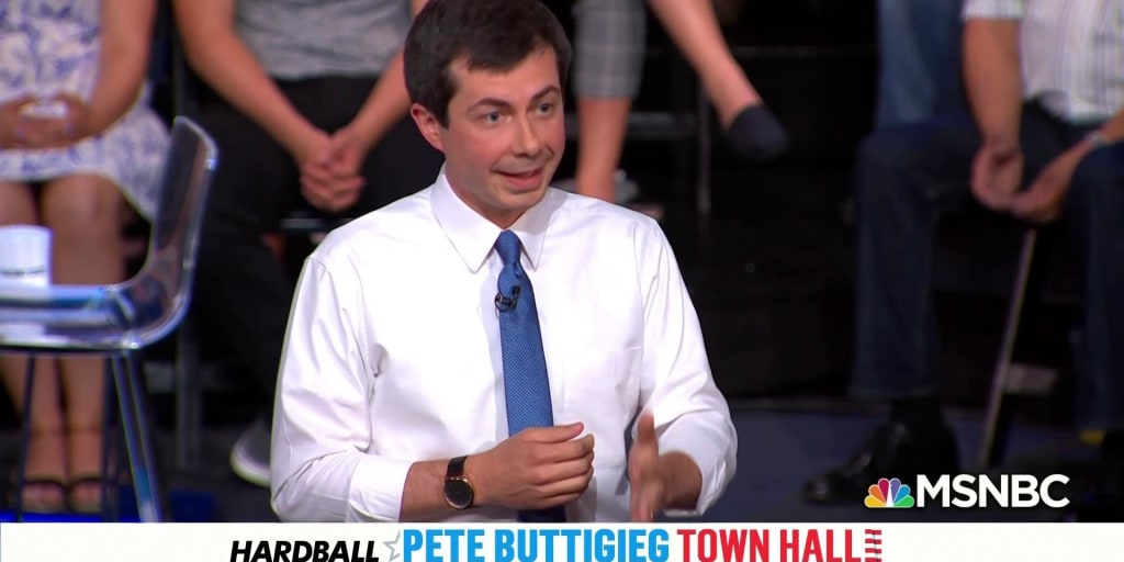 Mayor Pete says it's okay if you're not with him  He's still for you