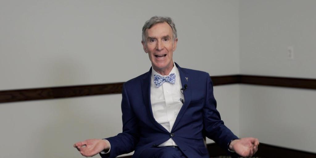Bill Nye takes on climate change deniers