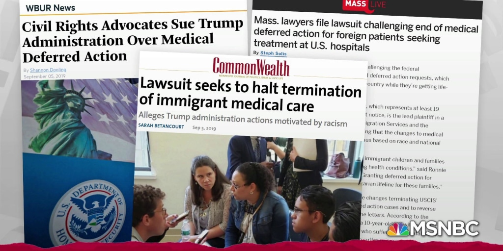 Trump admin sued over deportation of ailing kids and families