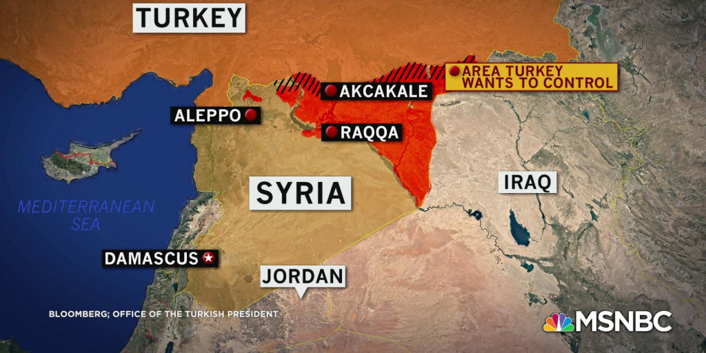 Turkey begins airstrikes and operations in northern Syria