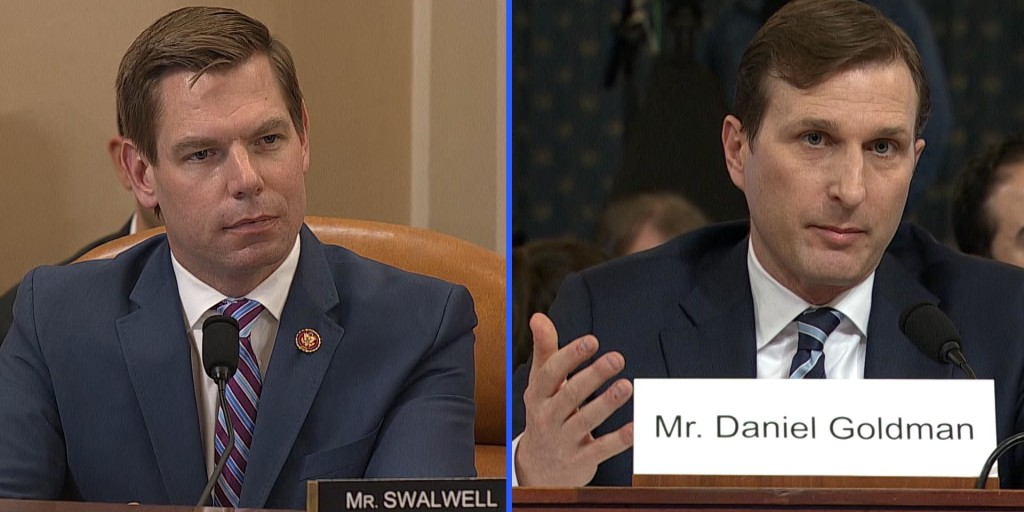 Rep. Swalwell outlines impeachment evidence in five minutes