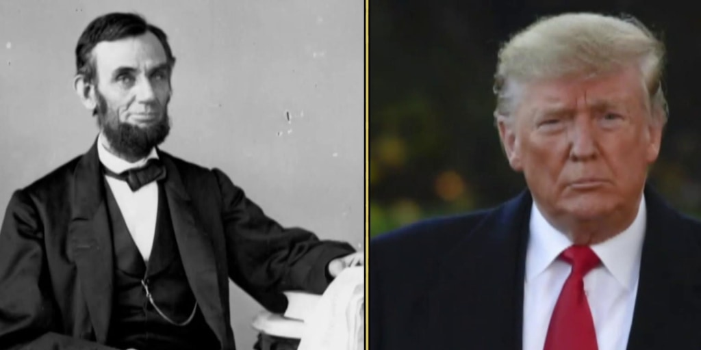 New poll shows majority of Republicans think Donald Trump is a better President than Abraham Lincoln