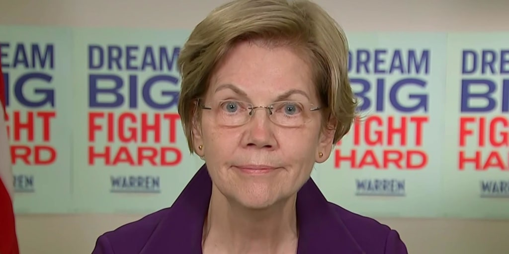 Sen. Warren on Michael Bloomberg and the practice of banks 'redlining' minority communities