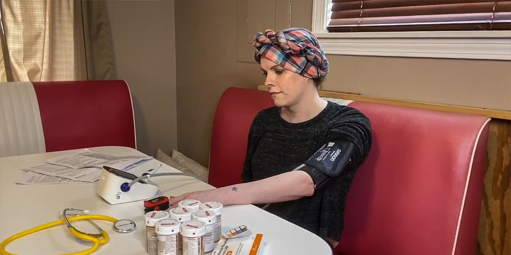 She had COVID-19, but no insurance. Her treatment cost $34,972.